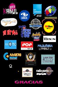 Trabajos en Radio